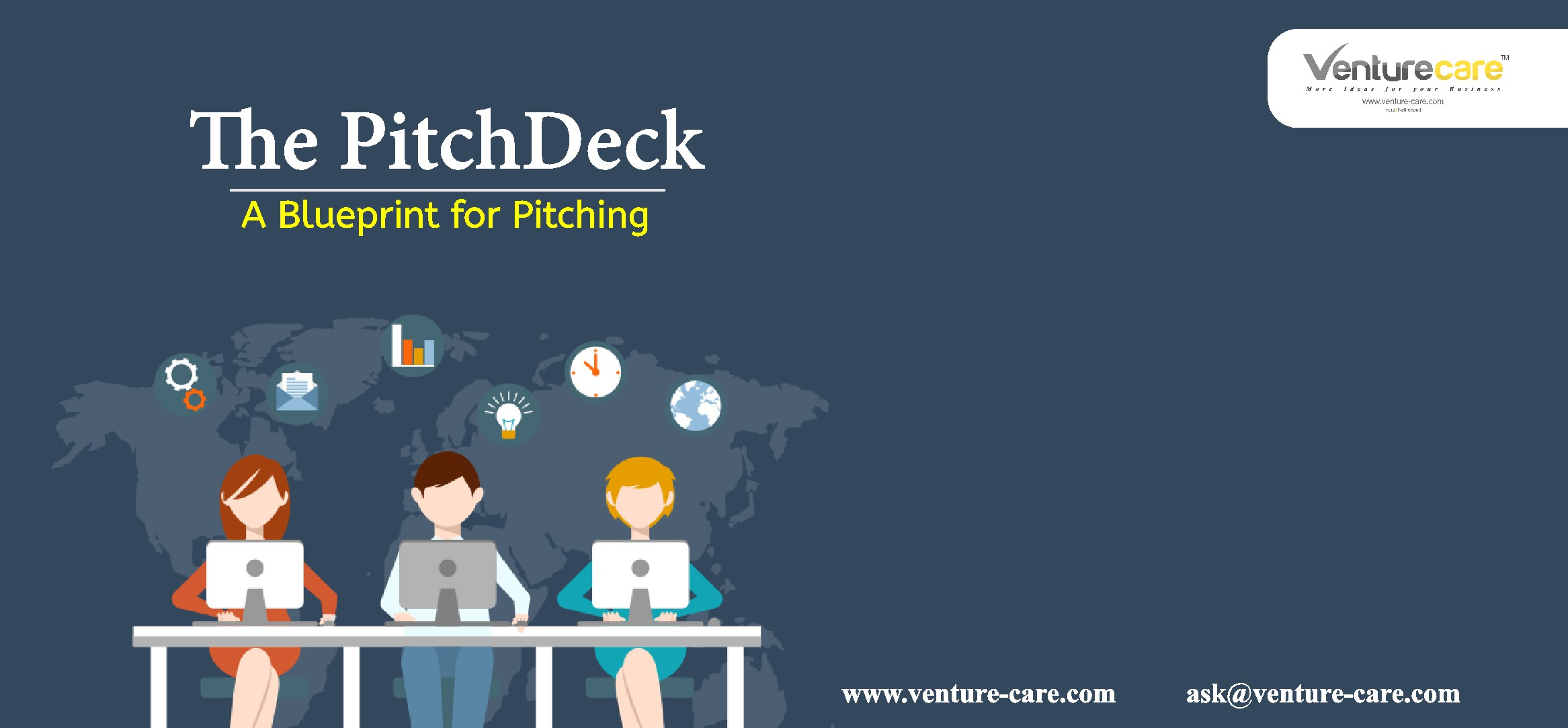 How to create a pitch deck for investors-Venture care