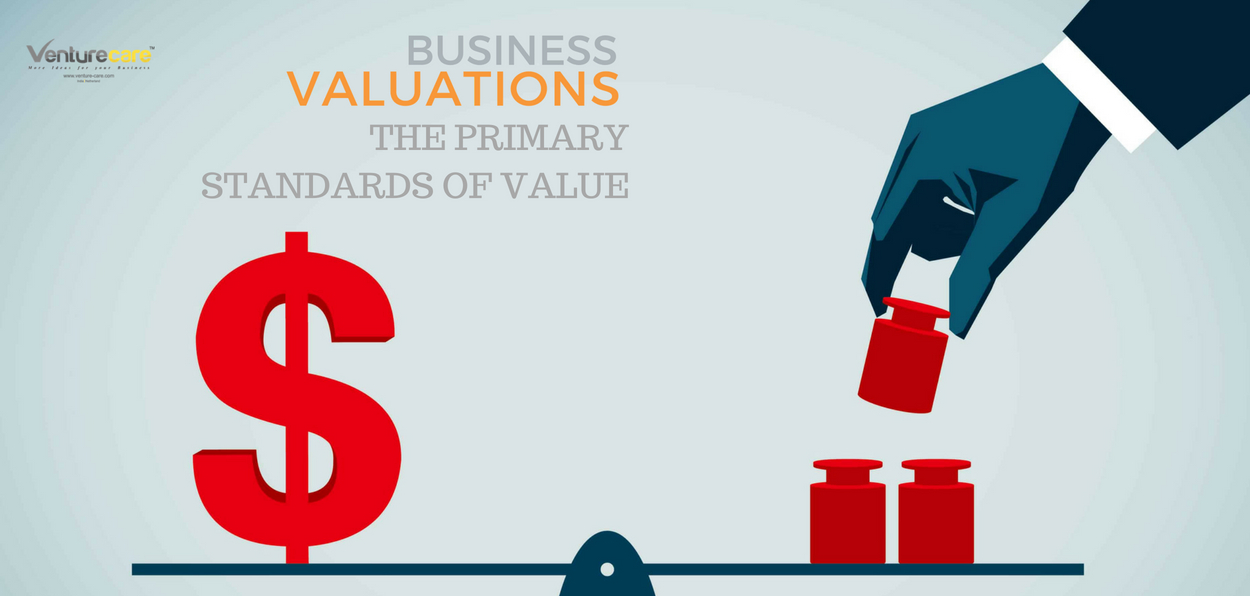 BUSINESS VALUATION : THE PRIMARY STANDARDS OF VALUE